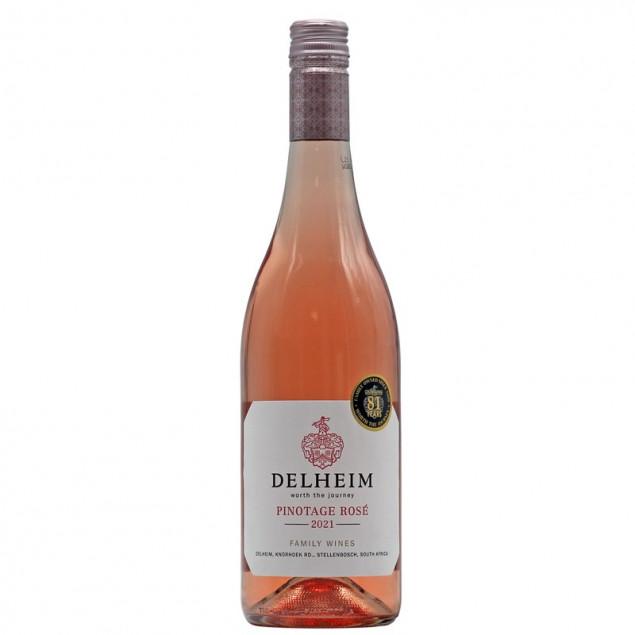 Delheim Pinotage Rose 2021 0,75 L 12,5% vol