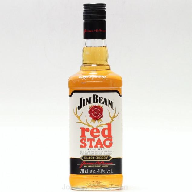 Jim Beam red STAG Black Cherry 0,7 L 40%