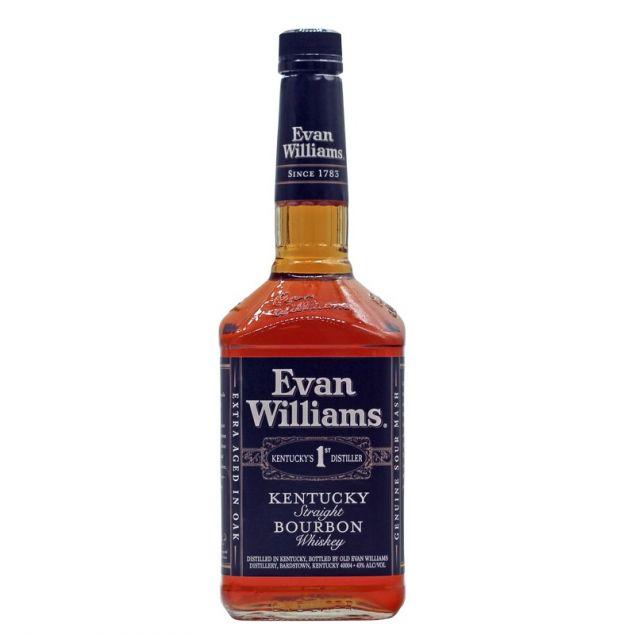 Evan Williams Bourbon Whiskey Black Label 1 L 43% vol