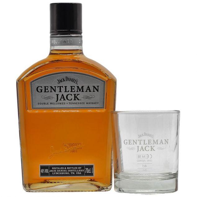 Gentleman Jack Geschenkset mit Tumbler 0,7 L 40%vol