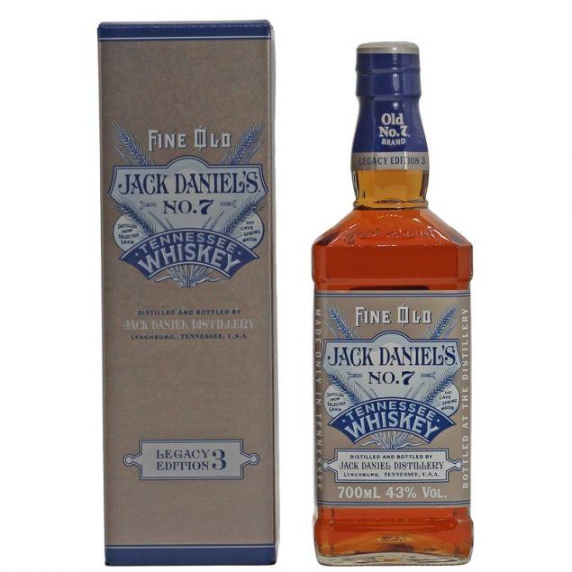 Jack Daniels Legacy Edition No.3 0,7 L 43% vol
