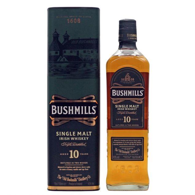 Bushmills 10 Jahre 0,7 L 40% vol