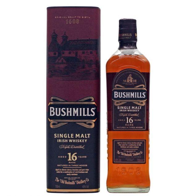 Bushmills 16 Jahre Single Malt Irish Whiskey 0,7 L 40% vol