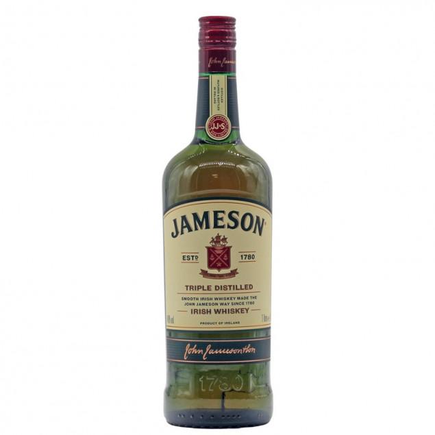 Jameson Triple Distilled Irish Whiskey 1 L 40% vol