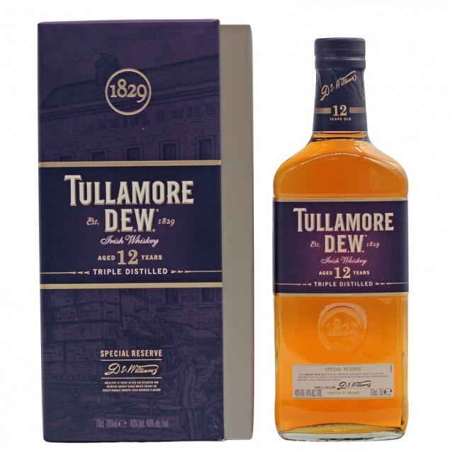 Tullamore Dew 12 Jahre Years 0,7 L 40%vol