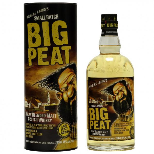 BIG PEAT Blended Islay Malt Scotch Whisky 0,7L 46%vol
