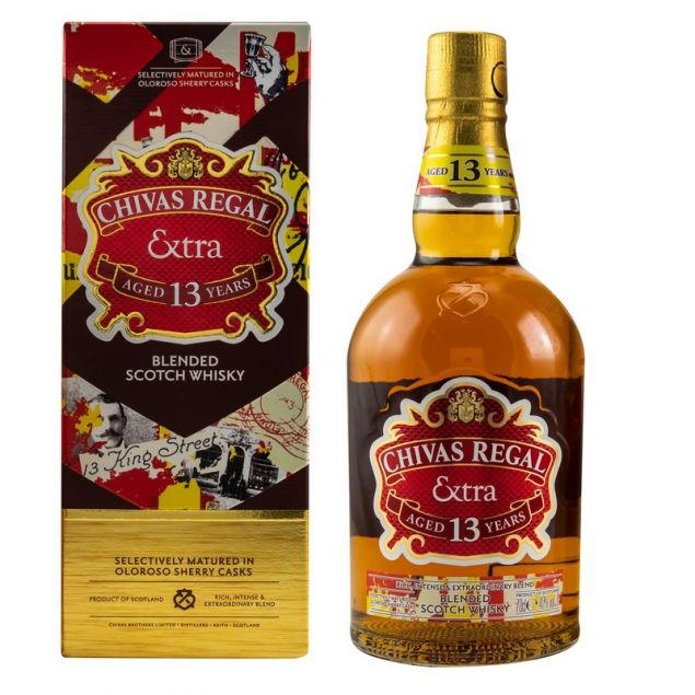 Chivas Regal Extra 13 Jahre Oloroso Sherry Casks 0,7 L 40% vol