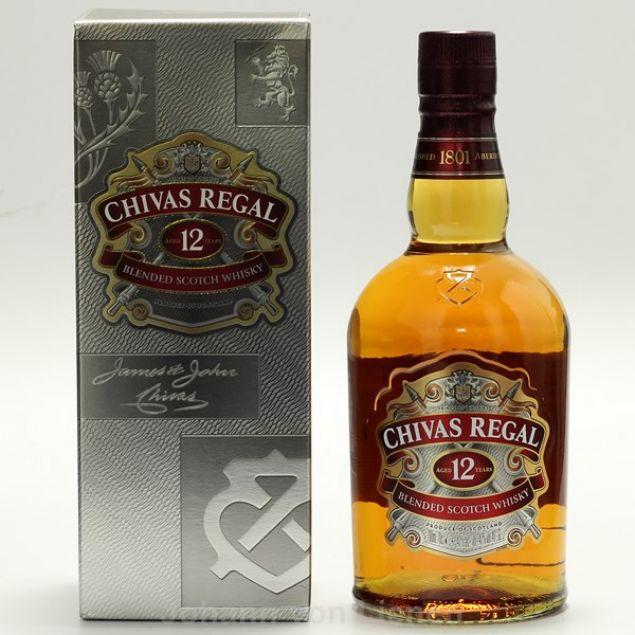 Chivas Regal 12 Years 0,7 Ltr. 40%