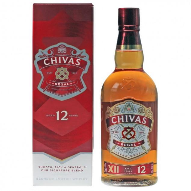 Chivas Regal 12 Years 0,7 L 40% vol