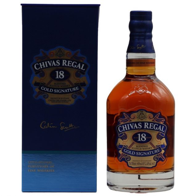 Chivas Regal 18 Jahre 0,7 L 40%vol