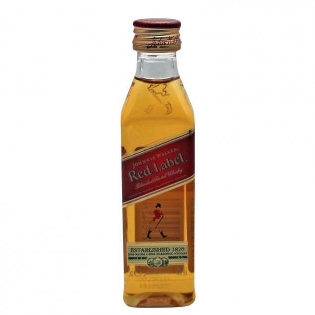 Gratisartikel ab 150,00 EUR - Johnnie Walker Red Label 0,05 L