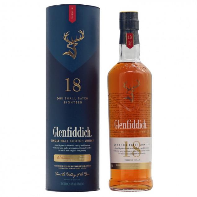 Glenfiddich Single Malt Scotch Whisky 18 Jahre 0,7 L 40% vol