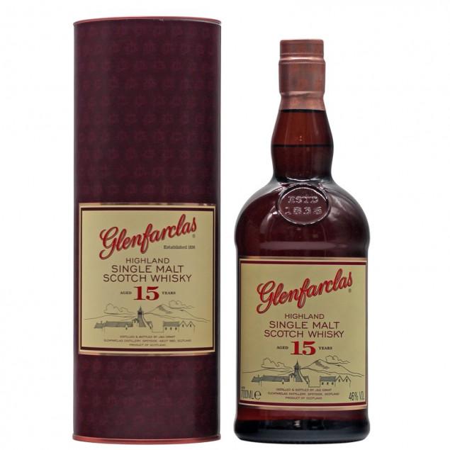 Glenfarclas 15 Jahre 0,7 L 46% vol