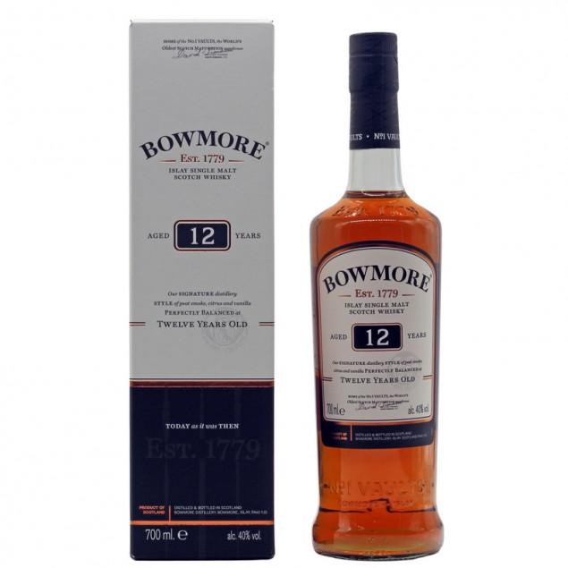 Bowmore 12 Jahre Years 0,7 L 40%