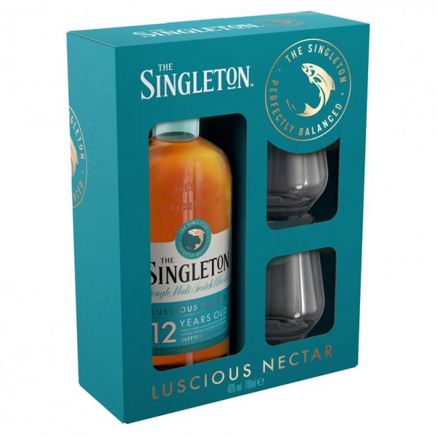 The Singleton of Dufftown 12 Jahre Set mit 2 Gläsern 0,7 L 40%
