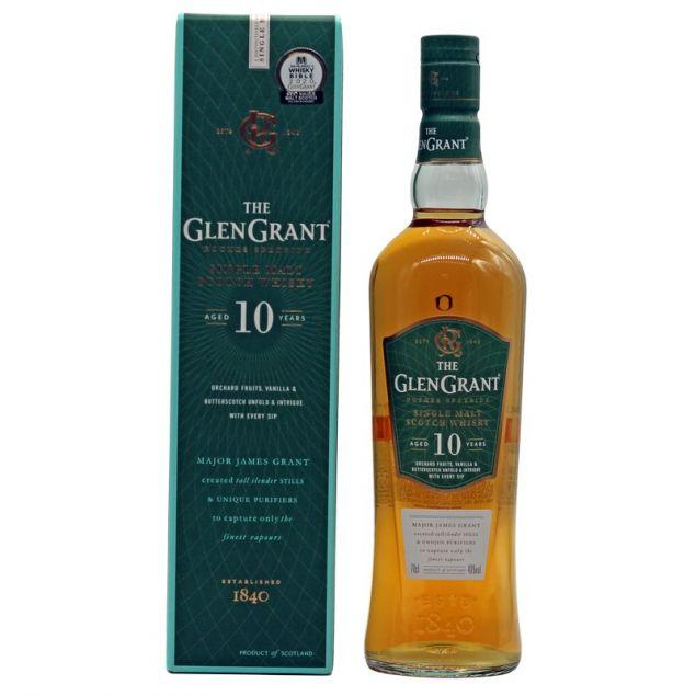 Glen Grant 10 Jahre 0,7 L 40%vol