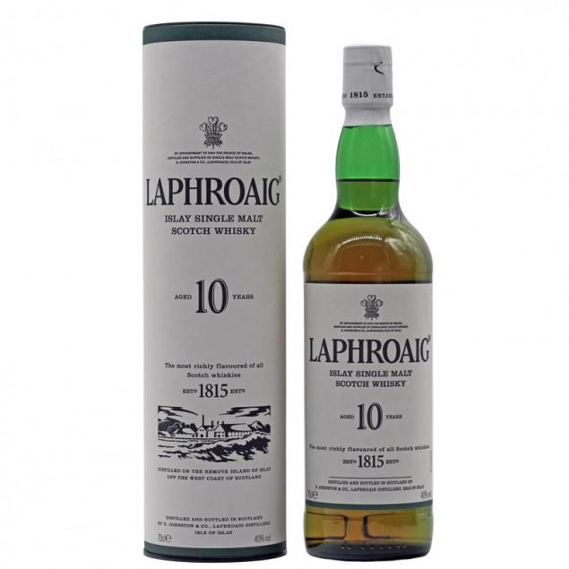 Laphroaig Whisky 10 Jahre 0,7 L 40% vol