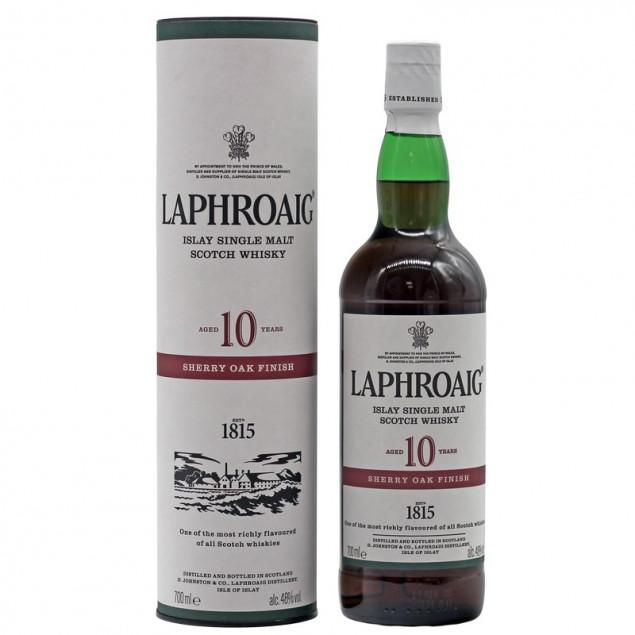 Laphroaig 10 Jahre Sherry Oak Finish 0,7 L 48% vol