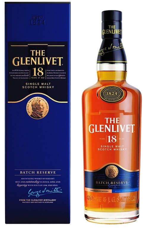 The Glenlivet 18 Jahre 0,7 L 40%vol
