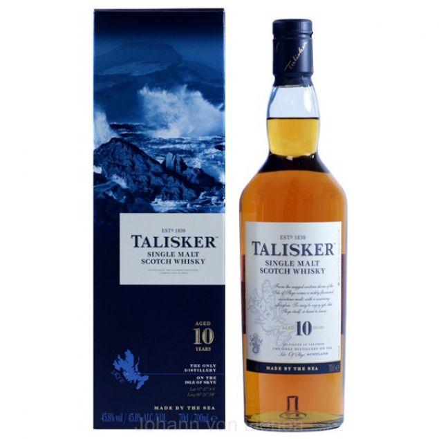 Talisker 10 Years Old  0,7 L 45,8%vol