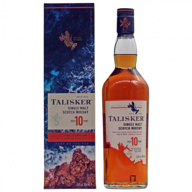 Talisker 10 Years Old 0,7 L 45,8% vol