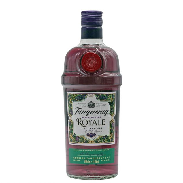 Tanqueray Blackcurrant Royale Gin 0,7 L 41,3% vol