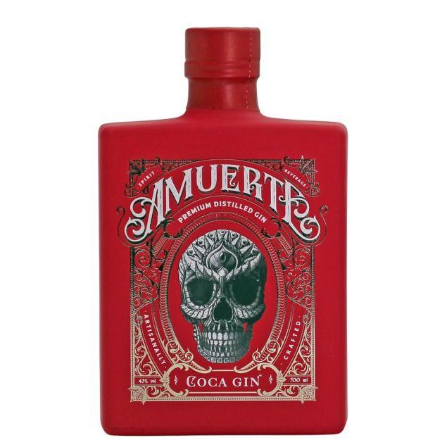 Amuerte Coca Leaf Gin Red Edition 0,7 L 43% vol