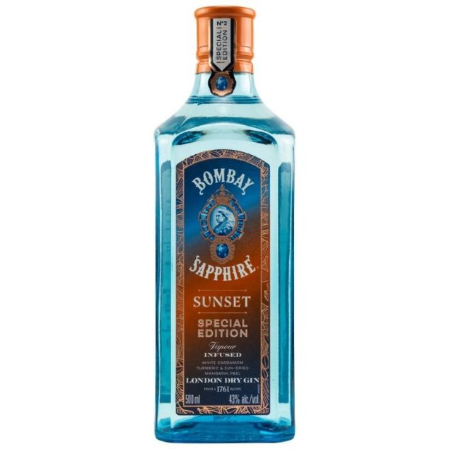 Bombay Sapphire Sunset Special Edition Gin 0,5 L 43% vol