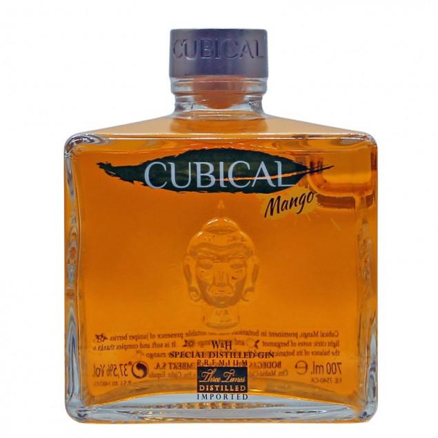 Cubical Mango Gin 0,7 L 37,5% vol