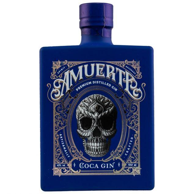 Amuerte Coca Leaf Gin Blue Edition 0,7 L 43% vol