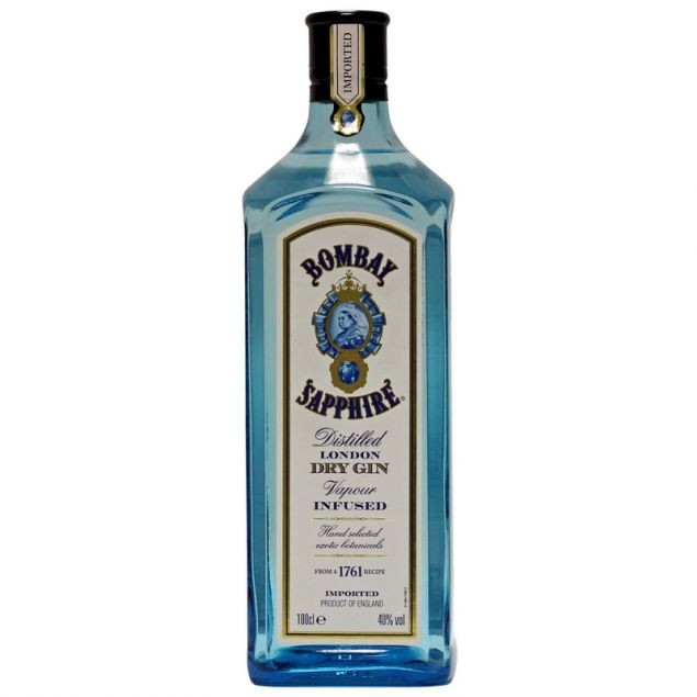 Bombay Sapphire London Dry Gin 1 L 40% vol