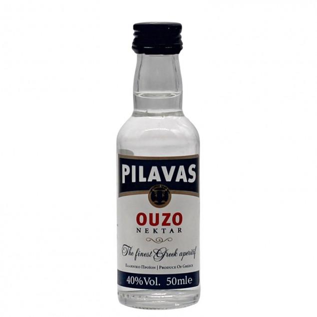 Gratisartikel ab 150,00 EUR - Pilavas Ouzo Nektar 0,05 L 40% vol