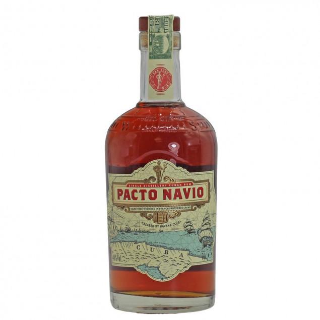 Havana Club Pacto Navio Rum 0,7 L 40% vol