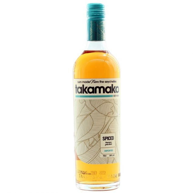 Takamaka Bay Spiced 0,7 38%vol