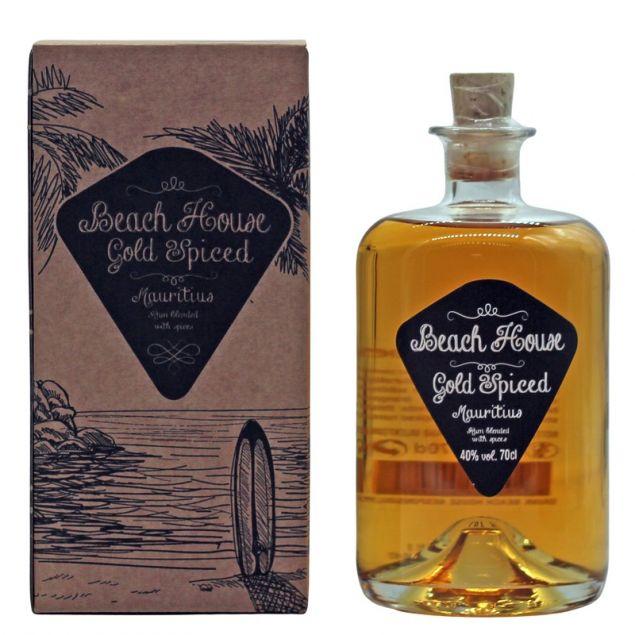 Beach House Gold Spiced 0,7 L 40% vol
