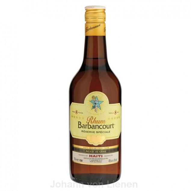 Barbancourt Rhum 8 Jahre 0,7 L 43%vol