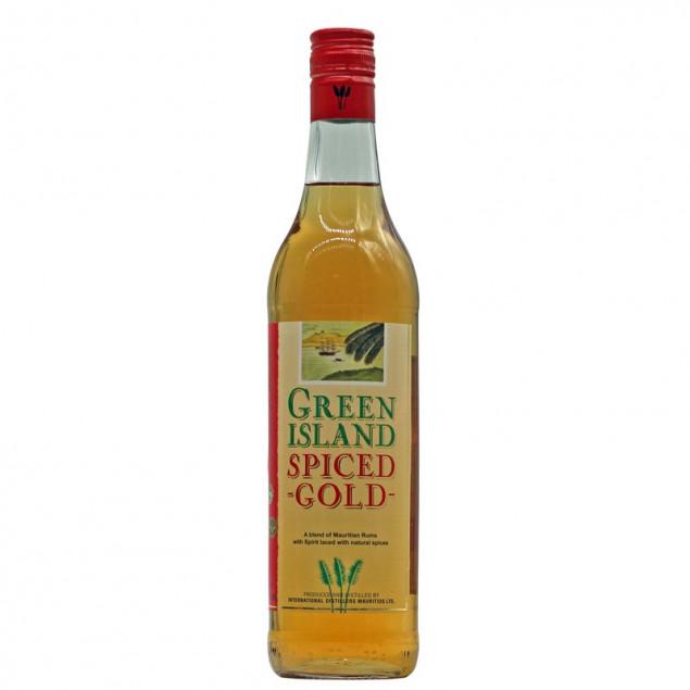 Green Island Spiced Gold Rum 0,7 L 37,5% vol