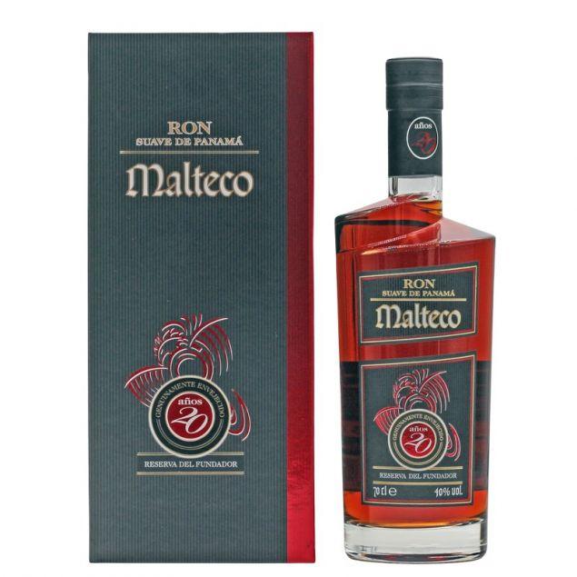 Malteco 20 Jahre Rum 0,7 L 40% vol
