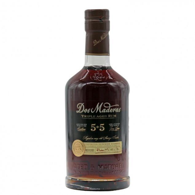 Dos Maderas PX 5+5 Jahre Rum 0,7 L 40% vol