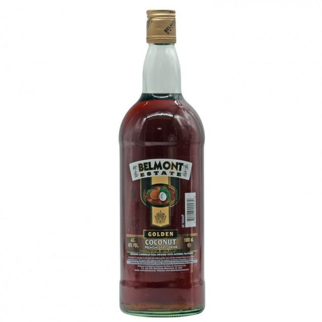 Belmont Estate Golden Coconut Spiced Rum 1 L 40% vol