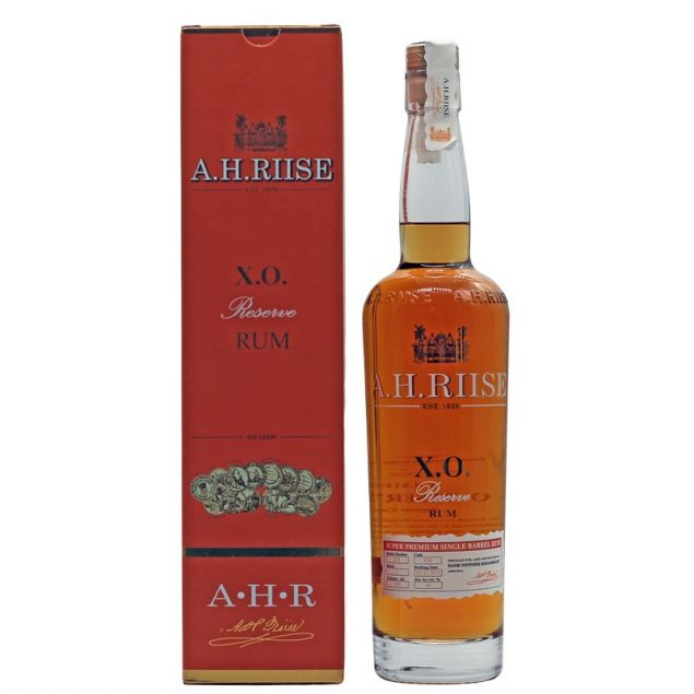 A.H. Riise X.O. Reserve (Rum-Basis) 0,7 L 40% vol