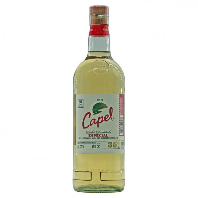 Pisco Capel Especial Doble Destilado 0,7 L 35% vol