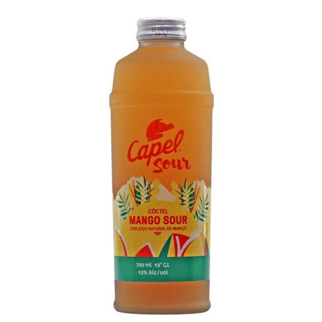 Pisco Capel Mango Sour 0,7 L 12% vol