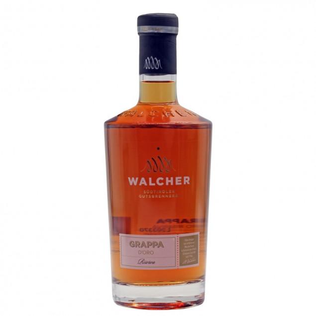 Walcher Grappa dOro Riserva 0,7 L 40% vol