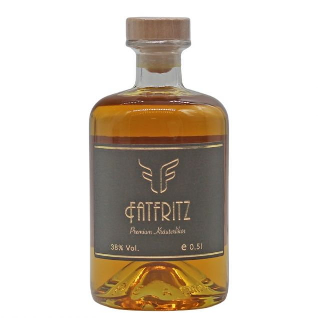 FatFritz Premium Kräuterlikör 0,5 L 38% vol