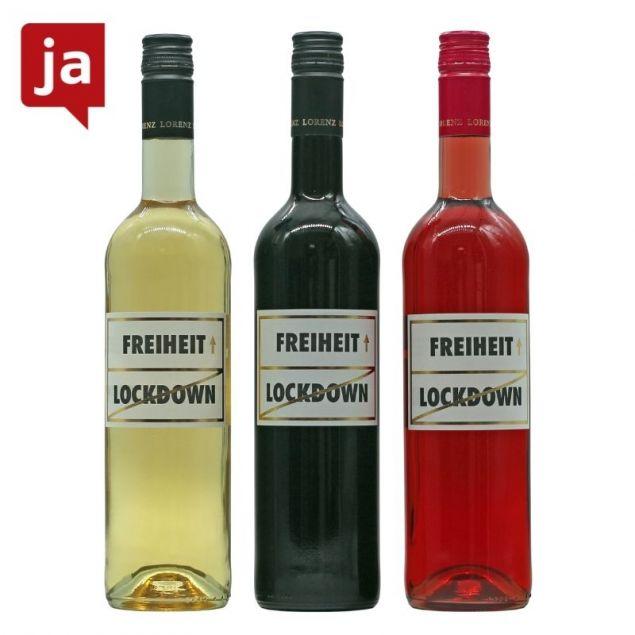 Freiheit Wein 3er Probierset Bio 3 x 0,75 L