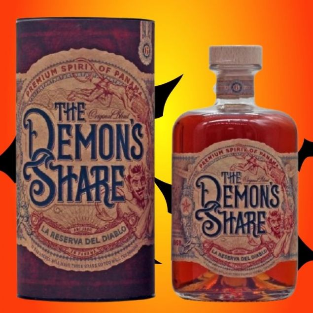 The Demons Share Premium Spirit of Panama 0,7 L 40% vol