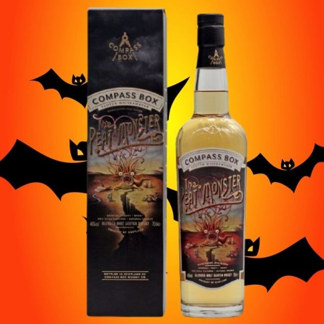 The Peat Monster Compass Box 0,7 L 46% vol
