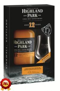 Highland Park 12 Jahre mit Glas