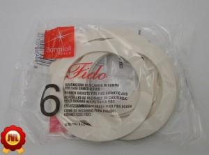 6 Fido Ersatz-Einkoch-Ringe